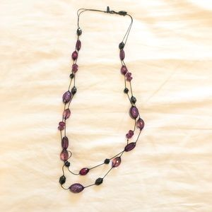 🎉 3/$15 double strand necklace | NY and Company